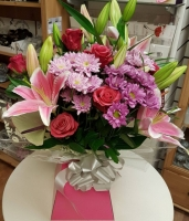BBD2 Box Bouquet Deluxe