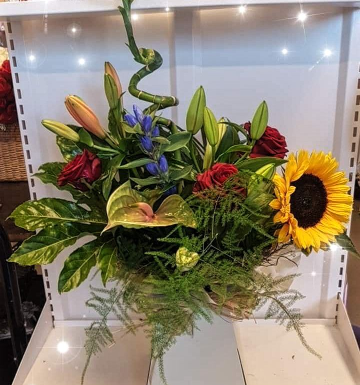 Sun Beam Box Bouquet