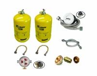 Gaslow Dual 6kg Refillable Gas
