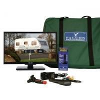 Falcon TV Plus Pack – 19 inch LED TV, 12V