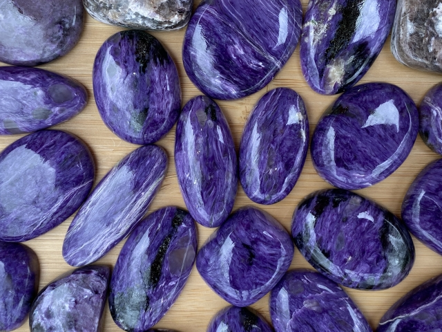 Charoite Cabochons - Wholesale Pack