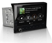XTENT F270 Head unit with Single reverse camera, Navigation and DAB