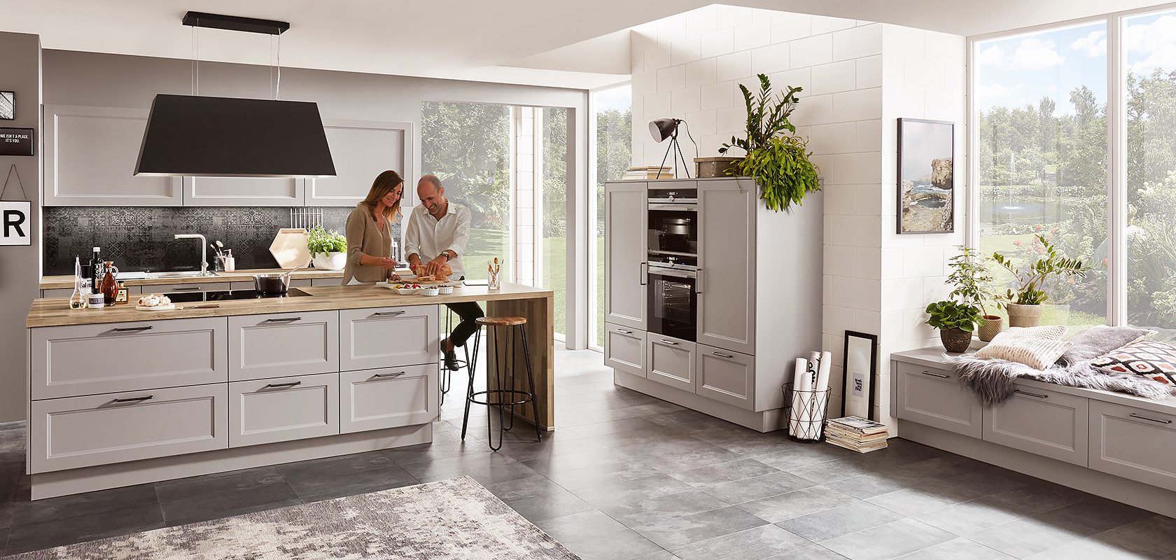 Get the finest units, worktops and appliances for your budget.