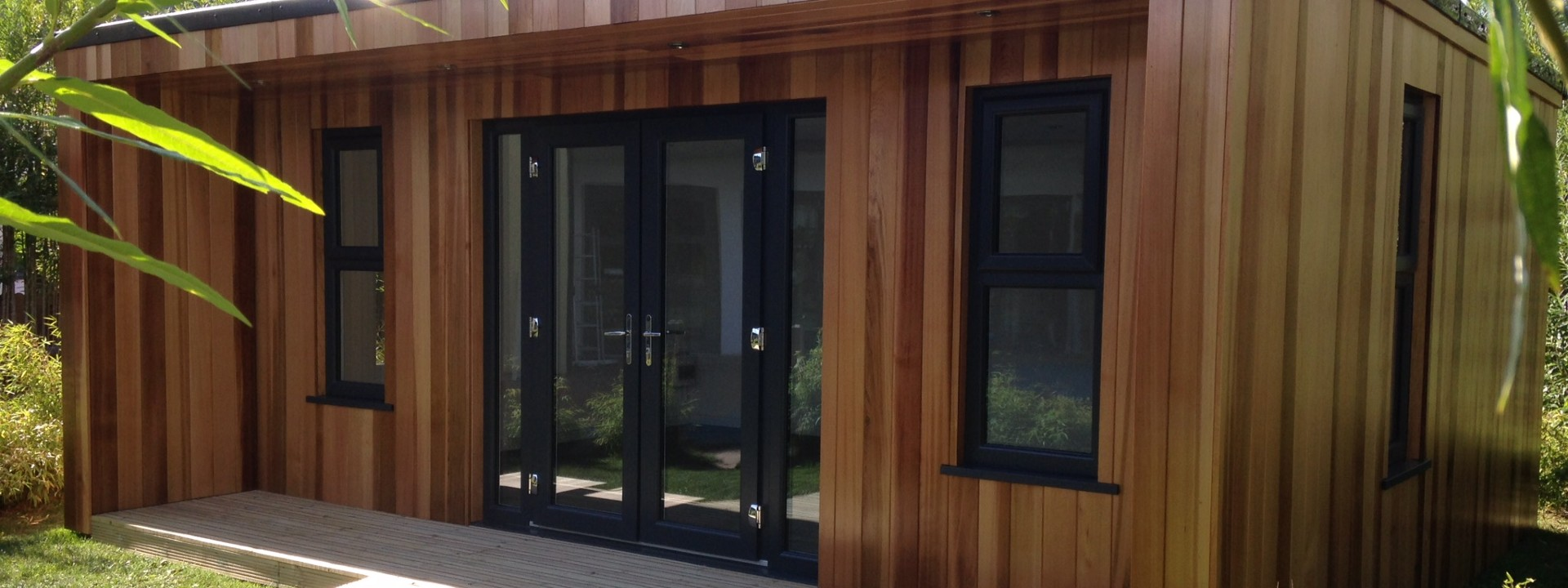 Beautiful Garden Rooms, Studios, Classrooms and Bespoke Garden Buildings